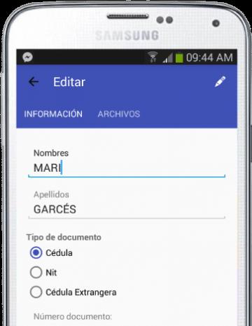Aplicación móvil para agencias de seguros, control y gestión de clientes y pólizas en tu celular.