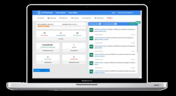 Toma el control con Software CRM de seguros