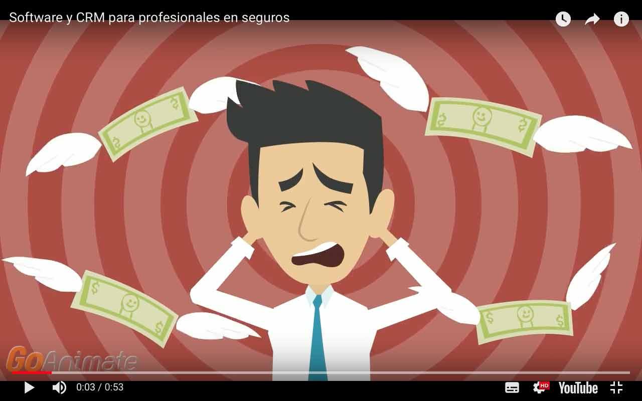Mira el video y conoce qué es Softseguros. CRM y software de seguros para profesionales de seguros